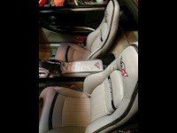 1997-2004 C5 Corvette Synthetic Leather Seat Covers With Stripe