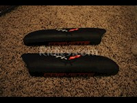 1997-2004 C5 Corvette Genuine Leather Door Arm Rest Pads