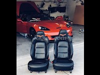 2012-2013 C6 Corvette Genuine Leather Seat Covers