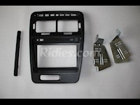 1990-1999 Nissan 300ZX / Z32 Double Din Radio Bezel with Stock Finish