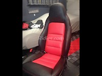 2005-2011 C6 / Z06 Corvette Leather Replacement Seat Covers For Sports / Standard Seats