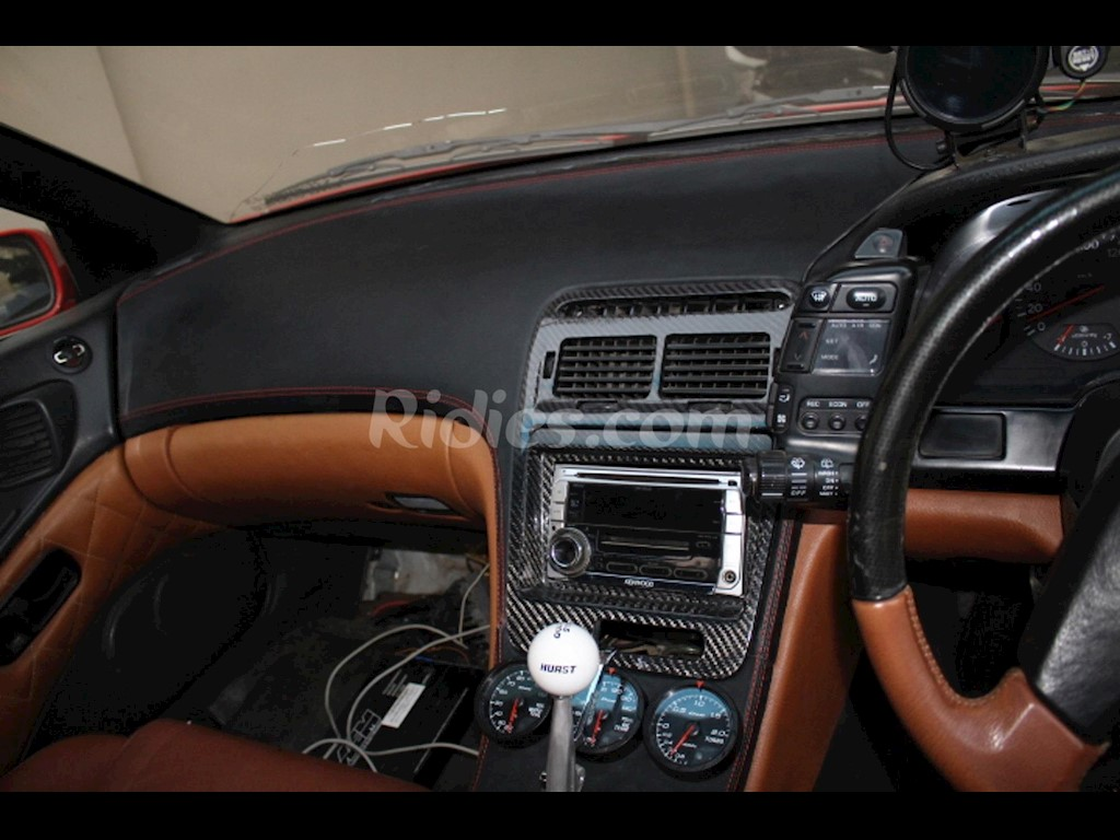 1990 1999 Nissan 300zx Z32 Dash Board Wrap In Genuine Leather Ris