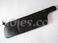 1990-1999 Nissan 300ZX / Z32 Sun Visor Covers in Genuine Leather