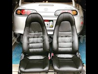 1997-1998 Toyota Supra MK4 / MKIV Leather Replacement Seat Covers