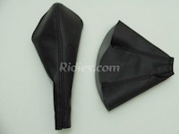 1993.5-1998 Toyota Supra MK4 Synthetic Leather 2pc Shift Boot Kit