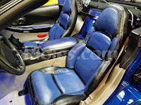 1997-2004 C5 / Z06 Corvette Leather Replacement Seat Covers Featured For Sports / Standard Seats