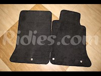 1997-2004 C5 Corvette Black Colored Front Floor Replacement Mats