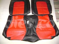 1991-1999 Mitsubishi 3000GT Synthetic Leather Rear Seat Covers