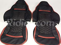 1997-2004 C5 Corvette Synthetic Leather Seat Covers Hexagon