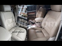 1998-2006 Lexus LX470 / Land Cruiser Leather Replacement Seat Covers With Center Console