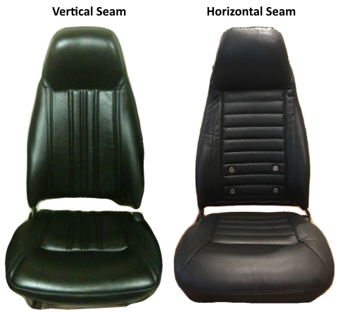 Vertical or horizontal seam difference
