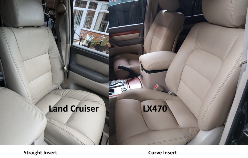 LX470 / Land Cruiser seat difference